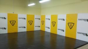 Стеновой протектор в спортивном клубе «Сафари» г. Липецк