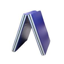 Мат гимнастический складной (2 секции) - синий
