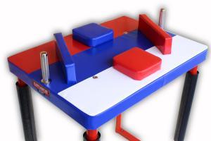 Стол для армрестлинга соревновательный — в цветах триколора