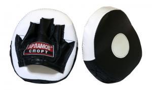 Лапы боксерские гнутые блинчик
