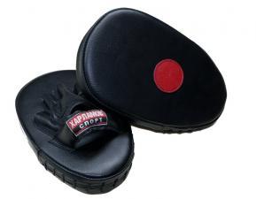 Лапы боксерские прямые кожаные