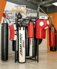 Демонстрационная стойка для спортивных товаров