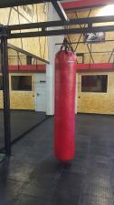 Боксёрский мешок 100 кг (текстиль) красный