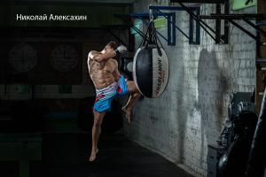 Работа на мешке — Николай Алексахин