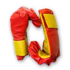 Боксёрские перчатки детские - красные