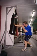 Классический боксёрский мешок с мягкой набивкой