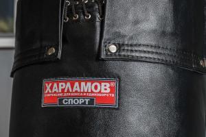 Кожаный боксерский мешок с мягкой набивкой